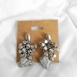Vintage Silver Earrings (stud backs)